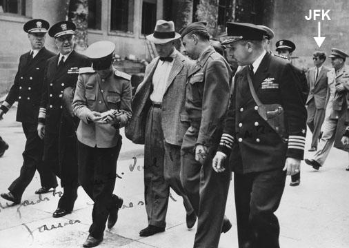Hidden History of the World Controllers  JFKforrestalgermany1945